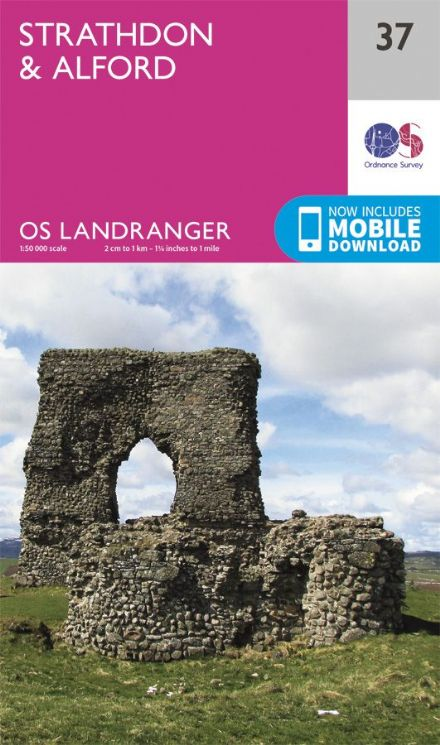 OS Landranger 37 - Strathdon and Alford